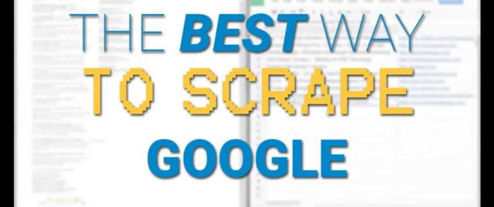 Cover image for Scraping Millions of Google SERPs The Easy Way (Python Scrapy Spider)
