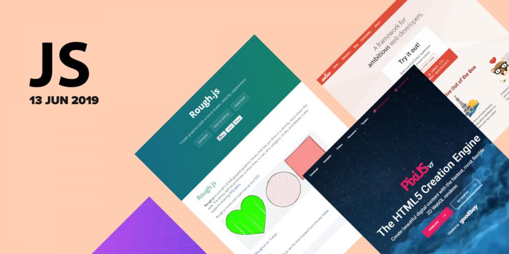42 most popular GitHub JS repositories in June 2019 - DEV Community