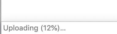 Chrome status bar