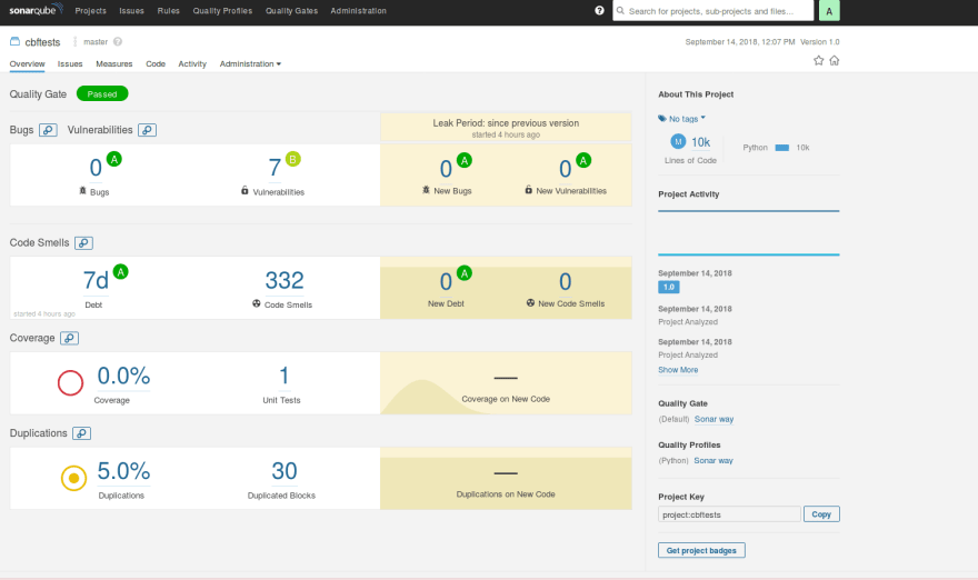 How I configured SonarQube for Python code analysis with Jenkins and