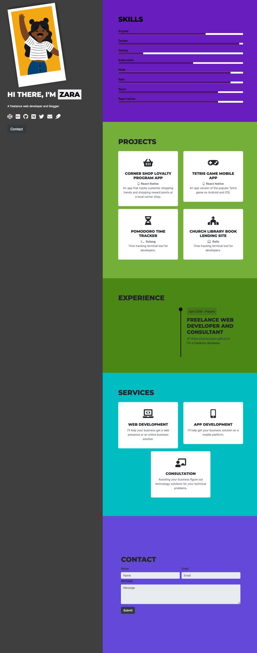 Mostly Finished Website