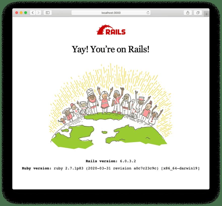 Rails Successful Installation