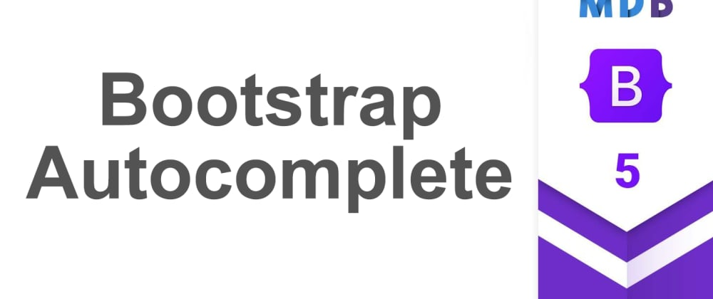 Cover image for Bootstrap 5 Autocomplete