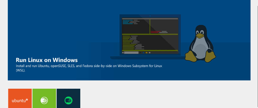 Cover image for Epic Development Environment using Windows Subsystem forLinux