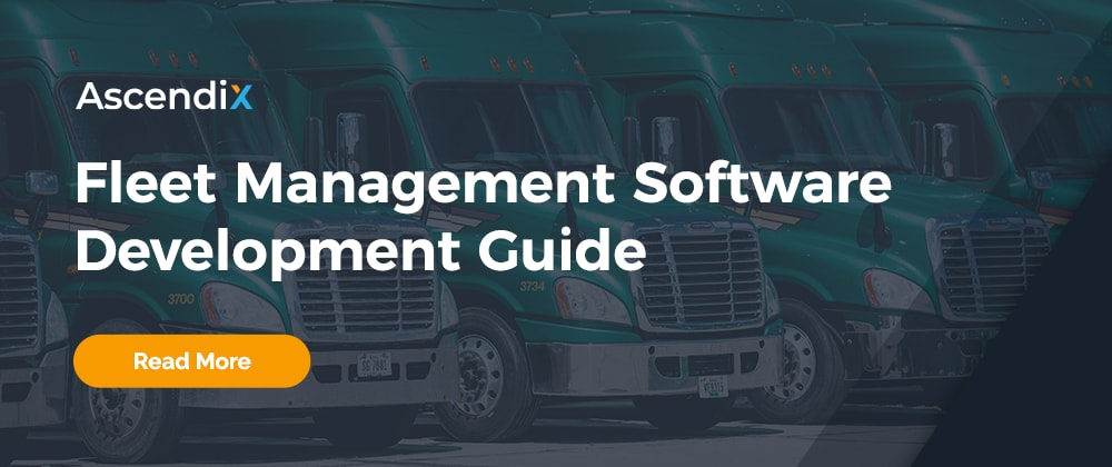 Cover image for Fleet Management Software Development: Full Guide