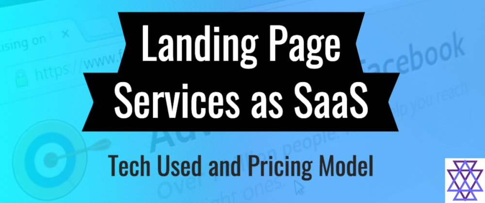 Cover image for Landing Pages as a SaaS