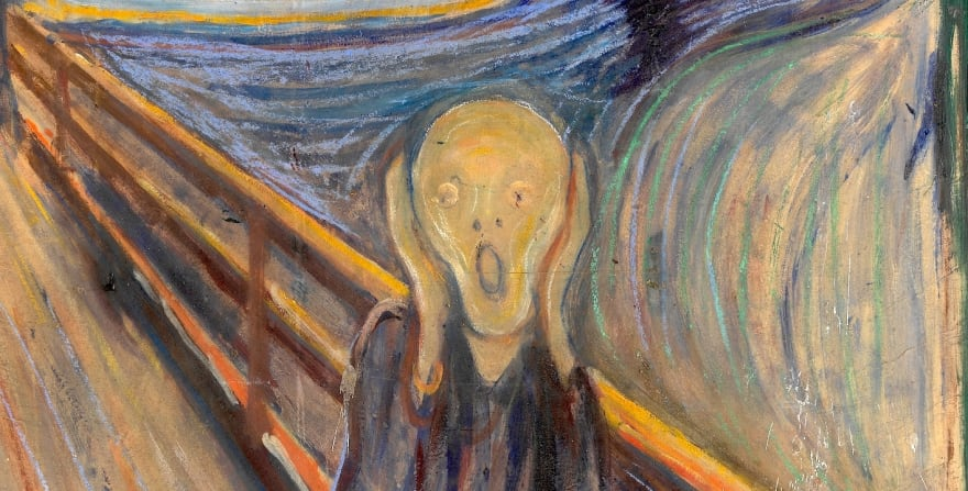 The Scream, by Edvard Munch - National Gallery of Norway