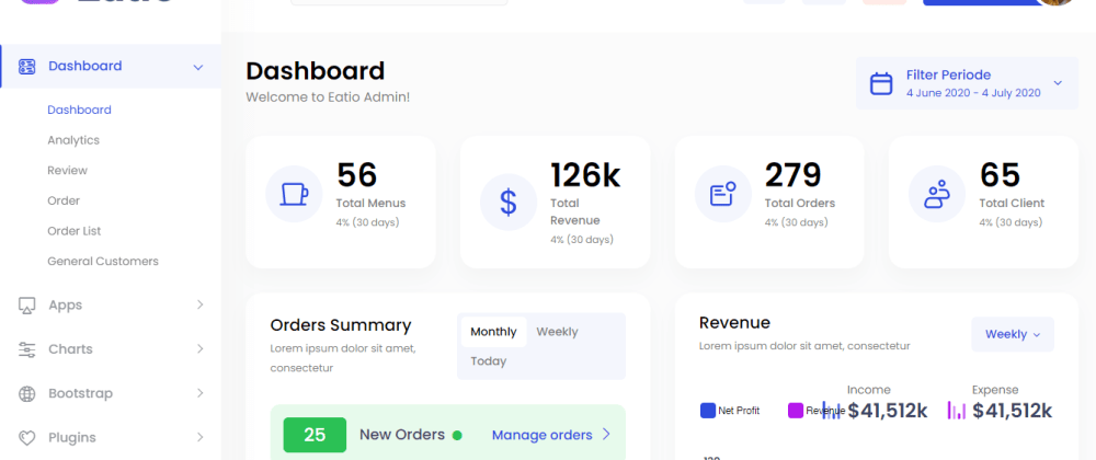 Cover image for My First Bootstrap Admin Template