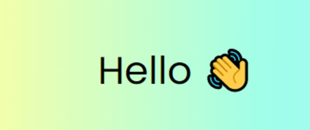 Cover image for Hand Wave Animation Using HTML & CSS