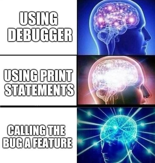 Debuggig using prints