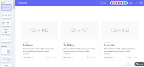 Tailblocks website