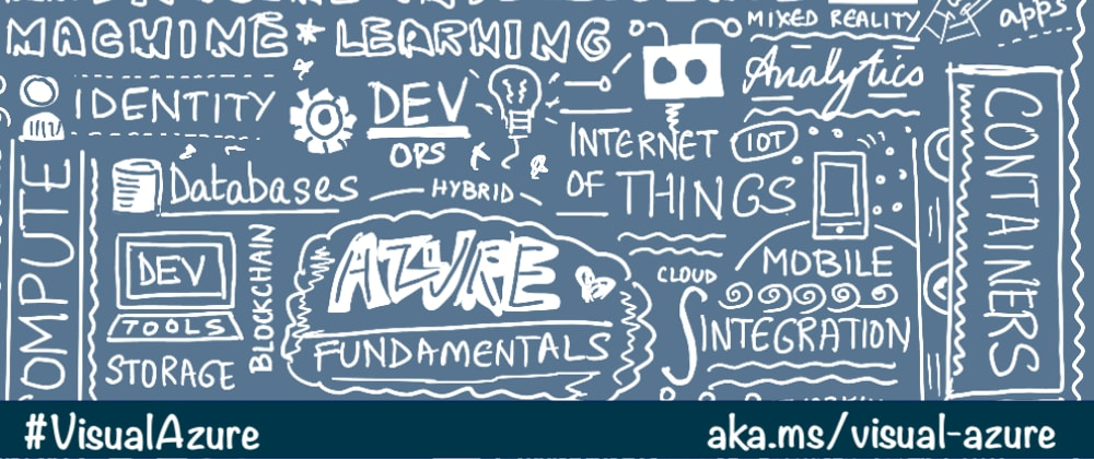 Cover image for Visual Azure: Studying for Certification, one Sketchnote at a time!