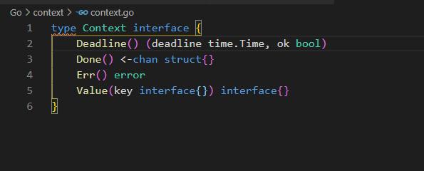 Context Interface