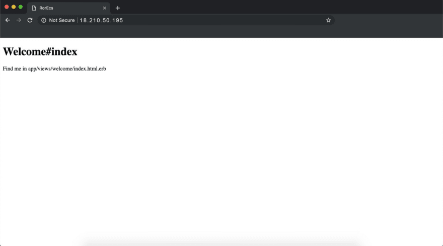 Alt The web app is publicly available on http://18.210.50.195