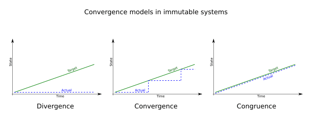 Convergence Models in Immutable Systems