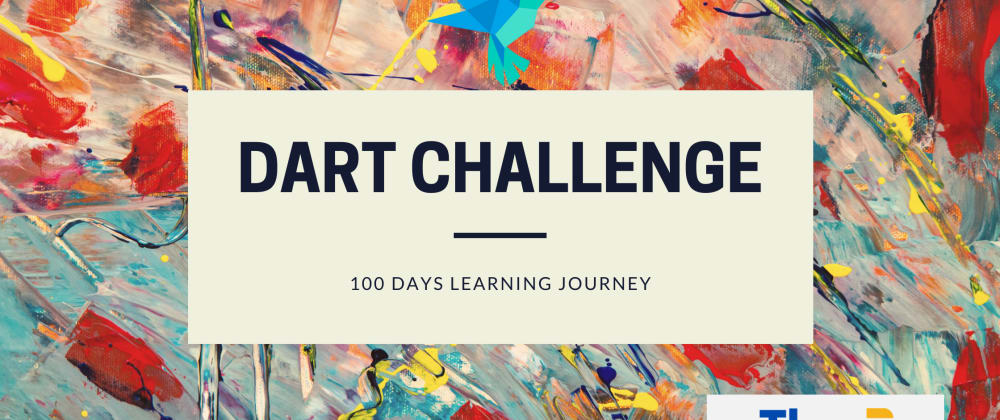 Cover image for 100 days dart learning challenge