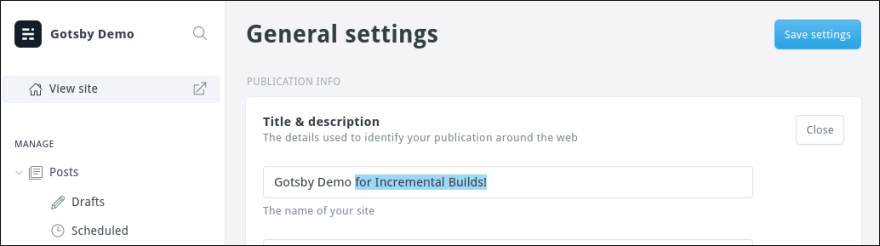Incremental Builds with Jamify