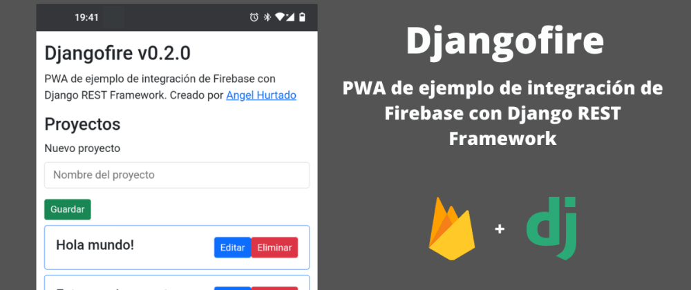 Cover image for Usando Firebase para autenticar en Django REST Framework