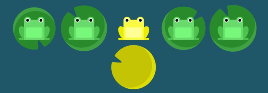 CSS Game Flexbox Froggy