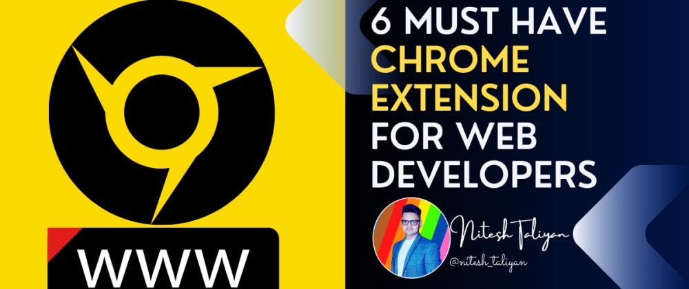 Cover image for Best chrome extension for a web developer