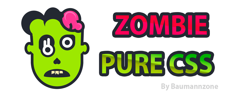Cover image for 🧟‍♀️ Pure CSS Zombie 🧟‍♂️