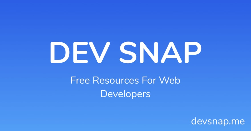 Web Developer Assets