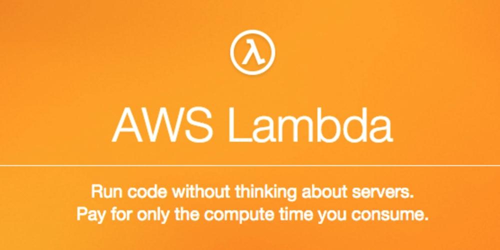 WTF is AWS Lambda?