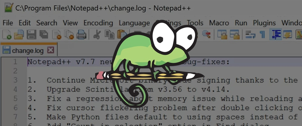 Cover image for Save your million dollar idea with notepad++ backups