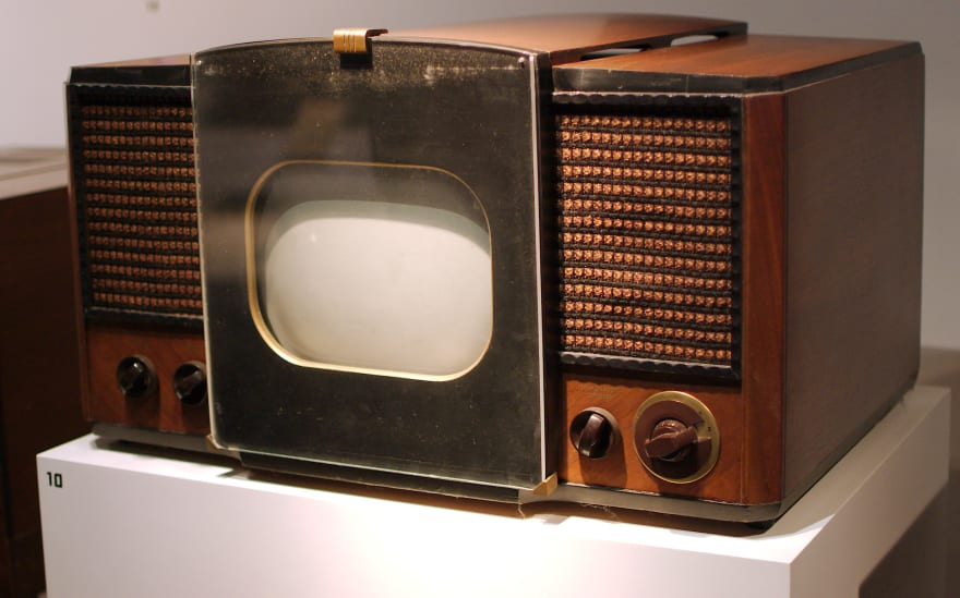 One of the first television