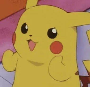 Encouraging Pikachu