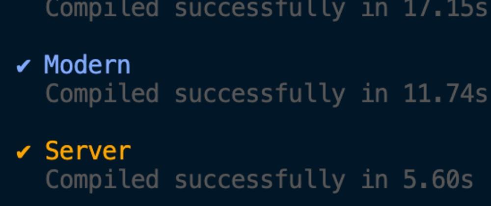 Modern Build in Nuxt.js