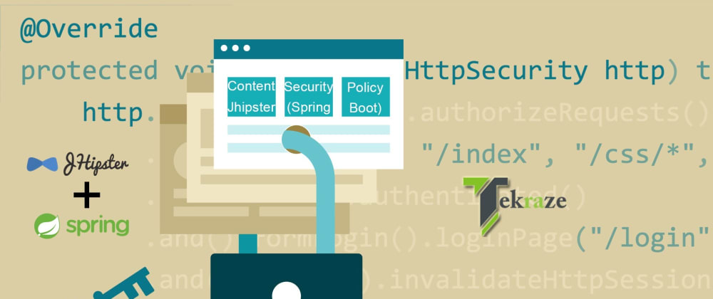 Cover image for Content Security Policy Jhipster (Spring Boot)