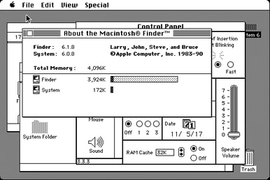 Screenshot of System Software 6