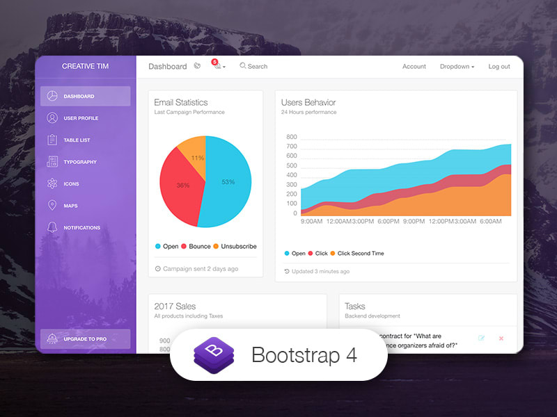 Light Bootstrap Dashboard