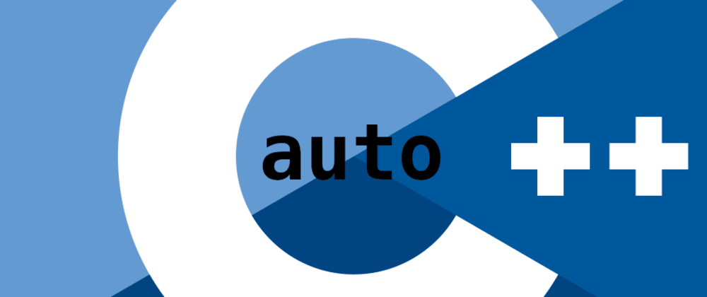 Cover image for The awesome `auto` keyword