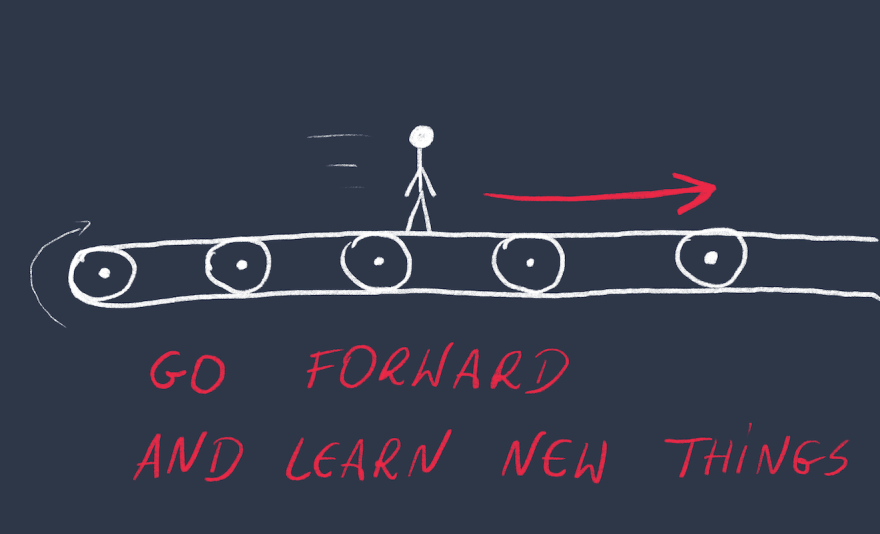 Self-learning process