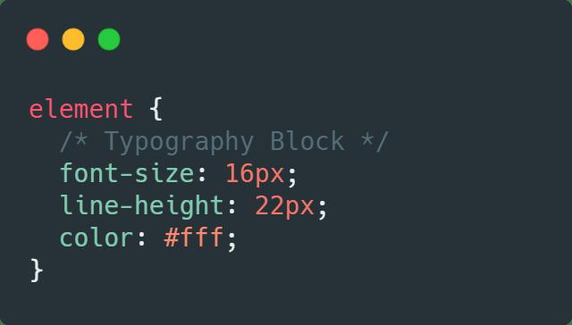 typography-block
