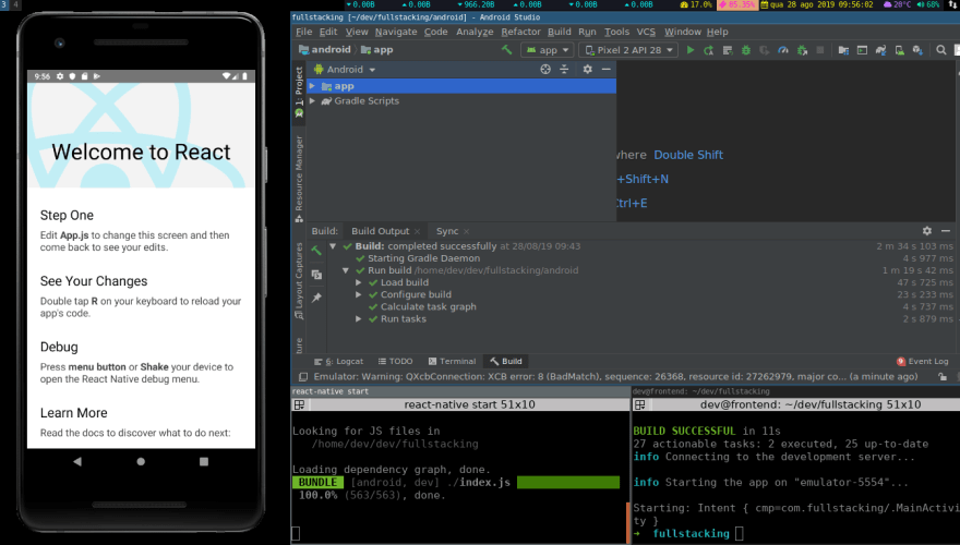 Android Studio printscreen
