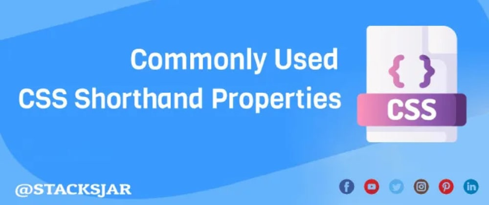 Cover image for ✨Useful Css Shorthand Properties
