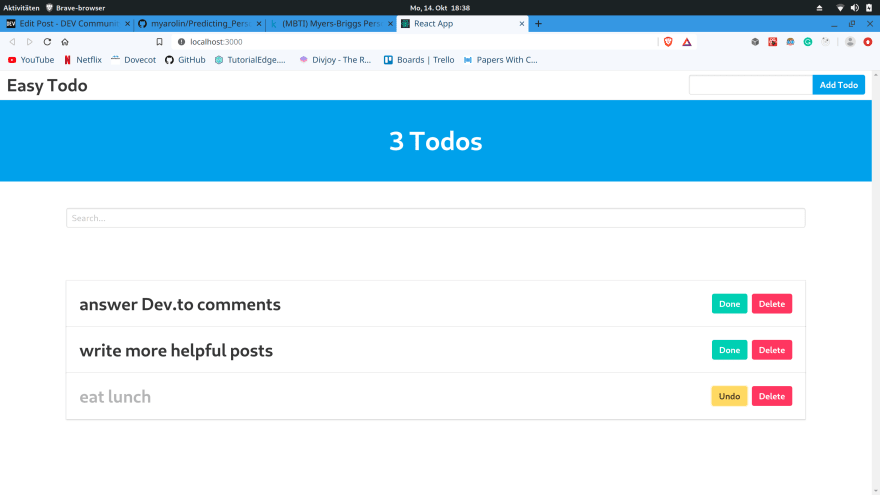 Still able to interact with them