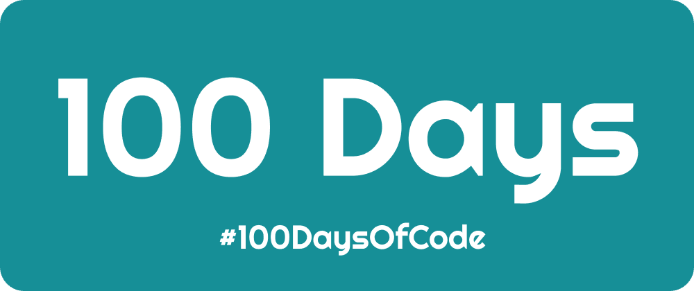 Cover image for #100DaysOfCode - The Finish Line
