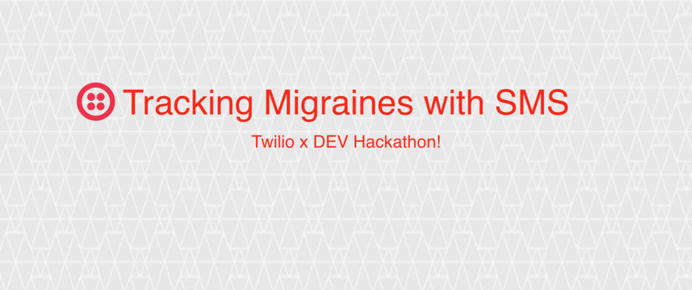 Cover image for Tracking Migraines with SMS