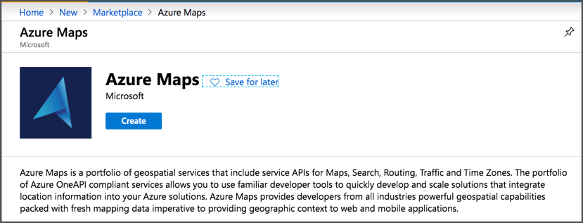 Visualizing locations and paths on a map with Azure Maps