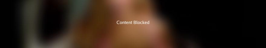content blocked sample