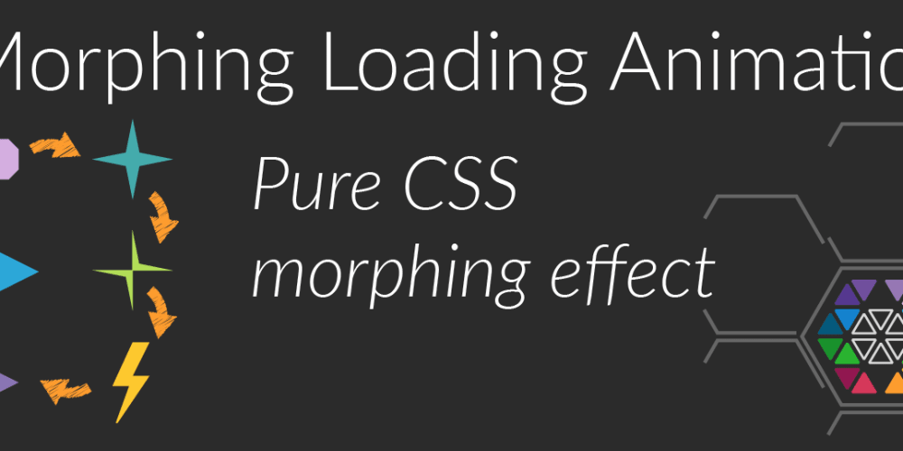 CSS Loading Animation - Morphing Icons Effect (clip-path, @keyframes)