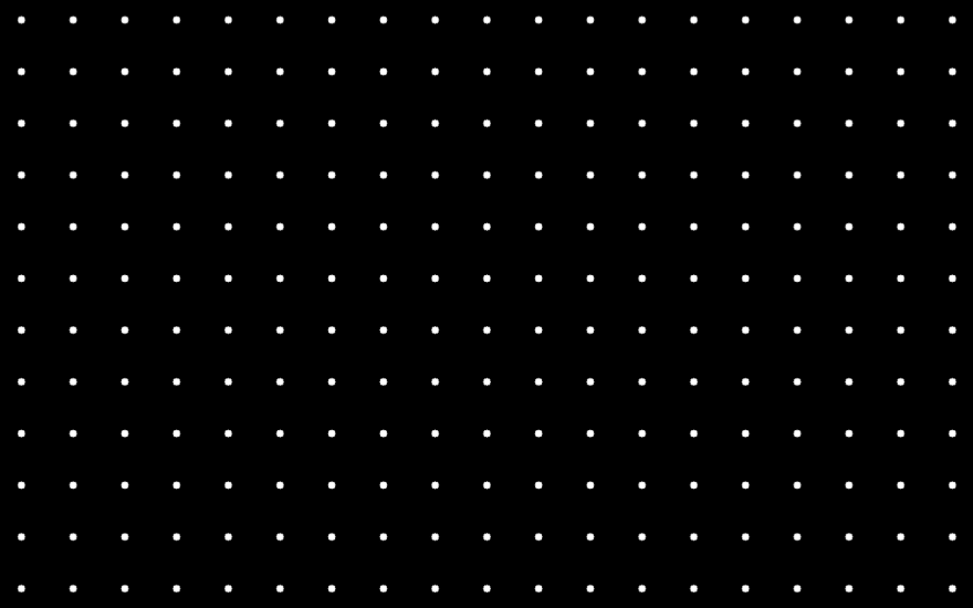 Dark image with repeating dots