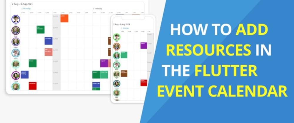 Cover image for How to Add Resources in the Flutter Event Calendar