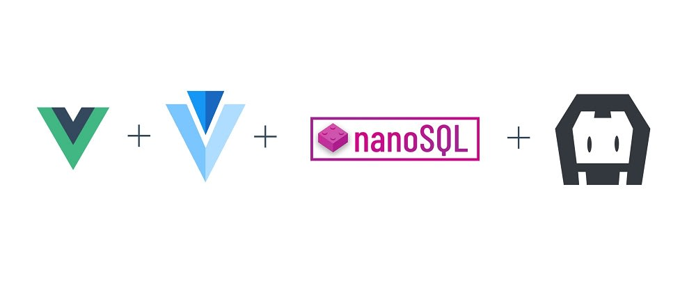 Cover image for Building a cross platform VueJS app with a local SQL database that can load data from a static csv file