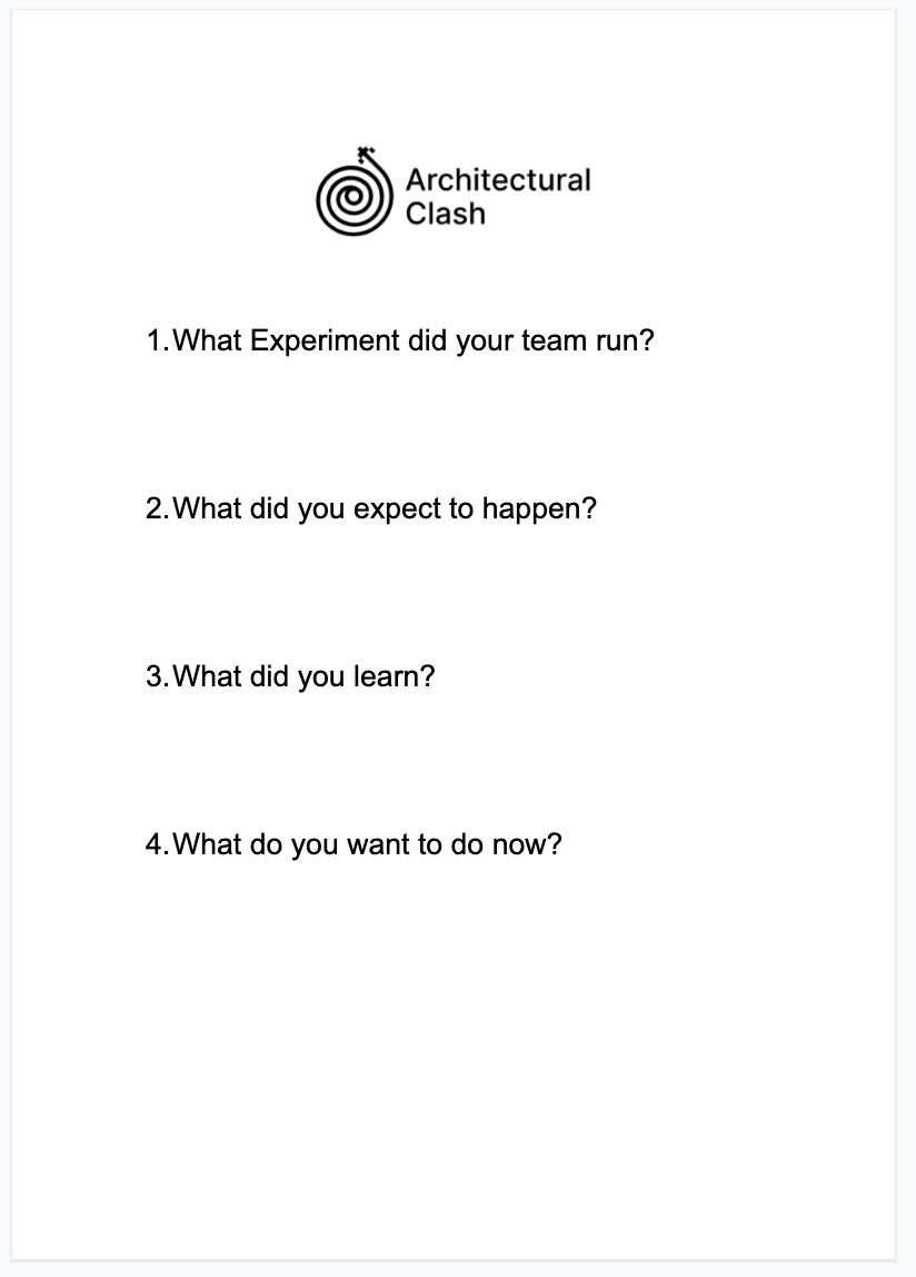 Experiment Outcome Template