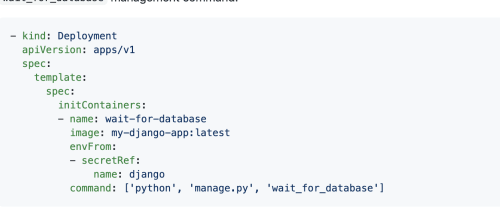 Cover image for Django-probes: wait until database is ready - Probes for Docker and Kubernetes